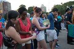 Peace Vigil -20 (MosaicMarj) Tags: brooklyn peace unity faith parkslope vigil candlelightvigil grandarmyplaza blacklivesmatter ericladams altonsterling philandocastile delrawnsmall whitepeopleforblacklives 3in3days