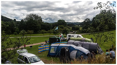 Photo of View from campsite Dol-llys farm camp