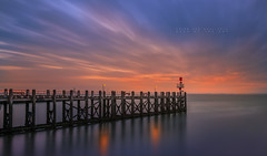 Dock of the bay (Brian van Daal) Tags: vlissingen netherlands nederlandvandaag nederland water triggertrap sky day nikon reflection clouds longexposure brianvandaal dock bay colors morning sea sunrise