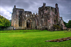 Melrose Abbey (BRYANJOHNSTONE) Tags: history abbey religious melrose hdr scottishborders