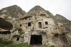 cave dwelling (eb78) Tags: abandoned turkey middleeast cappadocia anatolia goreme