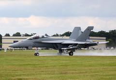 Boeing F/A-18F Hornet 168930 - US Marine Corps - Farnborough Airshow 2016 (anorakin) Tags: hornet boeing 2016 superhornet fa18f usmarinecorps farnboroughairshow 168930