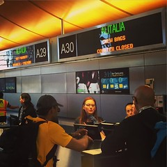 Stage 2 to Sicily - Achievement Unlocked. Check-in and security were as easy as they could be. #travel #family #trip (dewelch) Tags: ifttt instagram stage 2 sicily achievement unlocked checkin security were easy they could be travel family trip