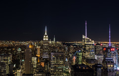 Manhattan (PAM Photo graphie) Tags: usa ny newyork night canon landscape f14 28mm observatory breathtaking topoftherock 6d otus distagon carlzeiss
