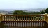 an imperial vista of hakodate (citizensunshine) Tags: panorama reflection rain japan harbor hokkaido harbour balcony patio rainy jp vista railing motomachi hakodate balustrade balusters baluster oldpublichall
