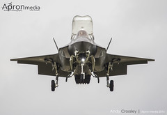168727 | United Stats Marines  | F-35B Lightning (Andy Crossley - Apronmedia.com) Tags: lighting old travel blue sky tourism tattoo speed america plane airplane army fly airport wings media war fighter technology force power martin aircraft aviation military air transport flight jet engine royal cargo historic apron landing airshow international american weapon transportation editorial stealth f22 airforce combat lockheed airborne propeller runway hercules c130 supersonic riat 2016 94th f35a