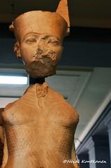 God Amun (konde) Tags: sculpture art statue goddess limestone karnak 18thdynasty mut ancientegypt amun cairomuseum newkingdom horemheb
