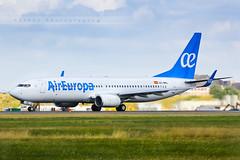 CDG - Boeing 737-85P (EC-MKL) Air Europa (Aro'Passion) Tags: cdg lfpg airport parisroissycharlesdegaulle ecmkl air europa boeing 73785p b73785p new livery takeoff dcollage natw aropassion aircraft 60d canon paris