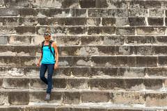 10. Xochicalco, Morelos, Mexico-20.jpg (gaillard.galopere) Tags: 2016 gaillardgalopere mexico mexique morelos pueblos pyramide xochicalco archeologie archeology cit civilisation construction escalier handmade hill histoire history roche rock stair stone view