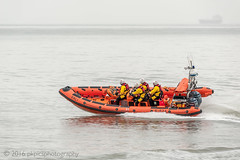 RNLI Training (PKpics1) Tags: boats rnli minehead boat water sea wake tanker