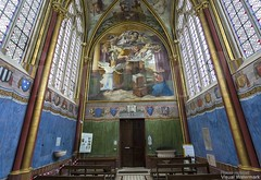 20160725_chaalis_abbey_primatice_chapel_88i89 (isogood) Tags: chaalis chapel primatice frescoes stainedglass renaissance barroco france church religion christian gothic cathedral light abbey