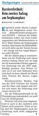 Falter: Barrierefreiheit: Kein zweiter Aufzug am Stephansplatz (bizeps) Tags: ubahn medien aufzug presse 2016 bericht wienerlinien pressemeldungen erwhnung pressemeldung erwhnungen