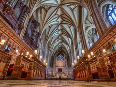 Bristol Cathedral (Wizard CG) Tags: bristol cathedral england hdr uk light windows church gothic architecture building indoor epl7 world trekker ngc 12thcentury heritage vault arch aisle hall