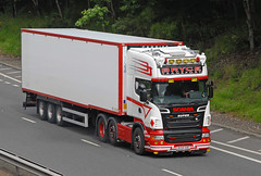 SCANIA - Bryce Transport  BX58 SOE (john_mullin) Tags: scotland scottish british uk truck trucks trucking lorry lorries hgv commercials transport vehicle vehicles goods distribution freight haulage supply delivery logistics perth perthshire