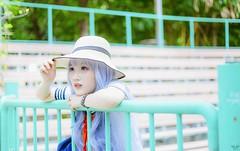 vyy 15 (Nhp xinh trai siu cp !) Tags: cute kawaii seifuku smile outdoor sunlight naturalday natural clearcolor clearly blue cosplay anime festival manga china japan taiwan vietnam park