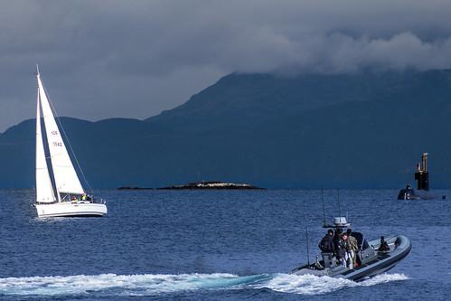 Submarine and Regatta
