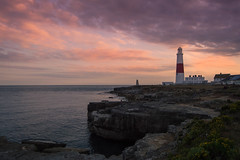 A View To A Bill (NVOXVII) Tags: lighthouse dusk sunset evening dorset clouds nikon landscape coast beauty outdoor