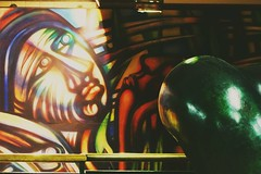 Metro estacin parque Bustamante   #street #art #subway #metro #subte #santiago #chile (pablovelasquez) Tags: subway street santiago metro chile subte art