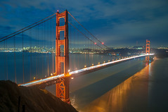 San Francisco across the Golden Gate Bridge at Night, California, USA (takasphoto.com) Tags: america bayarea california californiastate cucngvng dx dark darkness eeuu earth estadosunidos goldengate goldengatebridge highiso kitlens lens lowlight marin marincounty night nightview nikkor nikkor1855mmf3556gafsdxvrlens nikon nikon1855mmf3556gafsdxvrnikkorzoomlens noche noite norcal northamerica northerncalifornia nuit pontegoldengate puentegoldengate sfbay sfbayarea sanfrancisco sanfranciscobayarea sanpancho usa unitedstates unitedstatesofamerica westcoast world