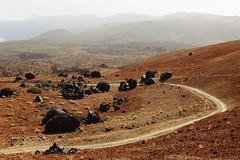 Los Huevos del Teide (dellannadavide) Tags: teide tenerife volcano sand desert rocks eggs wild trekking road intothewild los huevos del pico picodelteide canaryislands loshuevosdelteide montanablanca