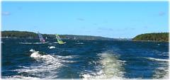 Stockholms Skrgrd (lagergrenjan) Tags: stockholms skrgrd archipelago windsurfers vrtan stora