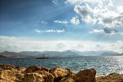 Vista desde el puerto (saparmo) Tags: mazarrn puerto de mar nubes sea port clouds mediterranean mediterrneo murcia