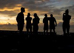 160820-N-YR245-522 (SurfaceWarriors) Tags: boxarg13meu16 ussboxerlhd4 amphibiousreadinessgroup 13thmarineexpeditionaryunit 13thmeu usmarines usnavy cpr1 sunset5k westernpacificocean