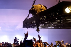 KANYE WEST AT BANKERS LIFE FIELDHOUSE (skinnyboybalki) Tags: kanye west bankers like fieldhouse christopher hall mixtape magazine concert photography life pablo sant tour indianapolis indiana turbo grafx 16 yeezus 808s heartbreak kim kardashian beautiful dark twisted fantasy