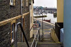 Round Wales Walk 42 - Back Street (Nikki & Tom) Tags: walescoastpath ceredigion wales uk aberystwyth river