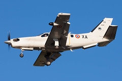 F-RAXA/33 (friedrichkarl18) Tags: armedelair ba115 fraxa33 frenchairforce lfmoxog orangecaritat socata tbm700 cn33