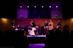 Roddy Woomble (redrospective) Tags: 2016 20160914 cecilsharphouse hannahfisher london roddywoomble roddywoombleband september2016 sorrenmaclean black blue concert curtains gig jumper live musicians people purple spotlights white wood