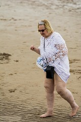 Princess (Nighty Photography) Tags: princess woman blackpool england beach sunbathing lady white no complexes liveandletlive