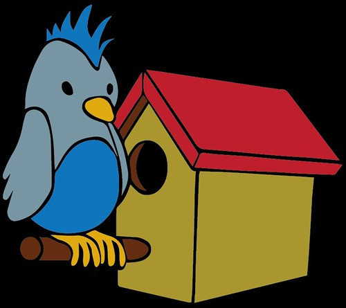 bird with house