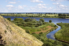 """""""Bo mnie jest szkoda lata"""" (airSnapshooter) Tags: gniew wierzyca wisa vistula river mewe poland pomeranian green blue white canoneos6d landscape windy sunny cloudy canonef50mmf18stm"""