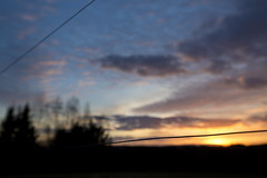 (mexou) Tags: sunset fence luxembourg 50mmf12 5diii moselmuselmoselle