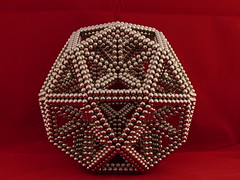 """Icosidodecahedron [2] <a style=""""margin-left:10px; font-size:0.8em;"""" href=""""http://www.flickr.com/photos/101058950@N02/16273948673/"""" target=""""_blank"""">@flickr</a>"""