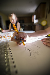 150325-hand-drawing-pencil-elephant.jpg (r.nial.bradshaw) Tags: art girl vertical sketch photo nikon hand arms image drawing creative sketchbook stockphoto stockphotography d4 1735mm28 s164 fxformat rnialbradshaw