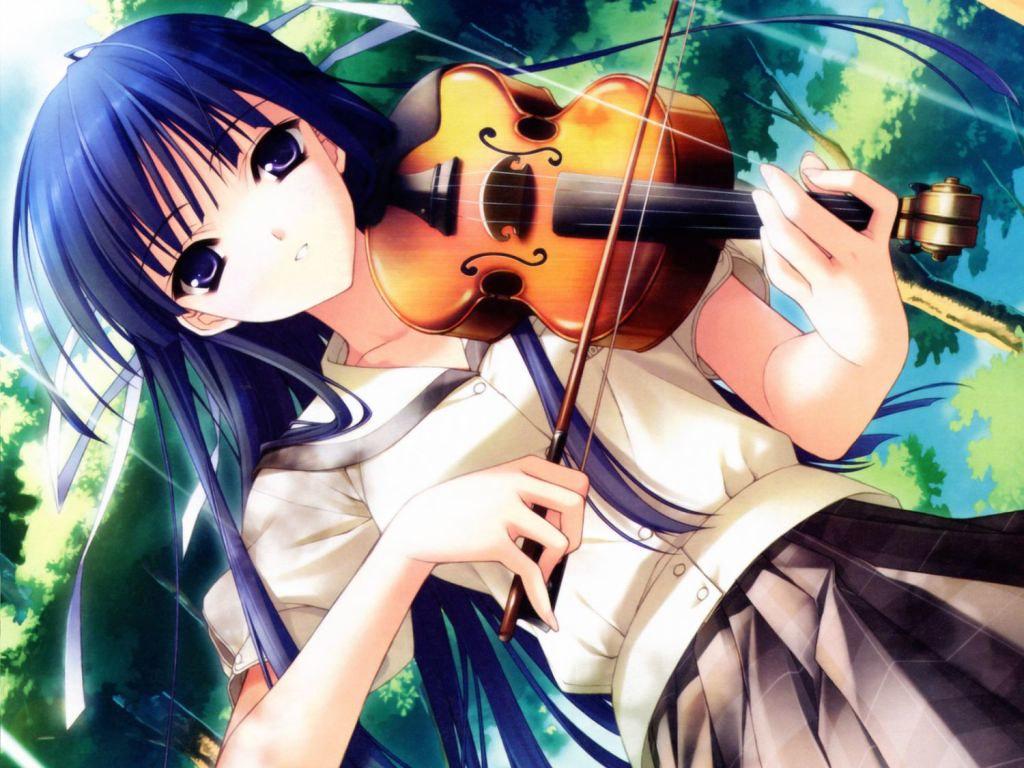 Anime Music Wallpaper Violin Free 2015 Wallsauto Tags