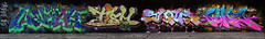 Nekah / Tism / Slam / Sone (Alex Ellison) Tags: urban graffiti slam boobs sone halloffame graff hof tism northlondon tbf neka pws mhb 1t nekah paintwasters thebufffails