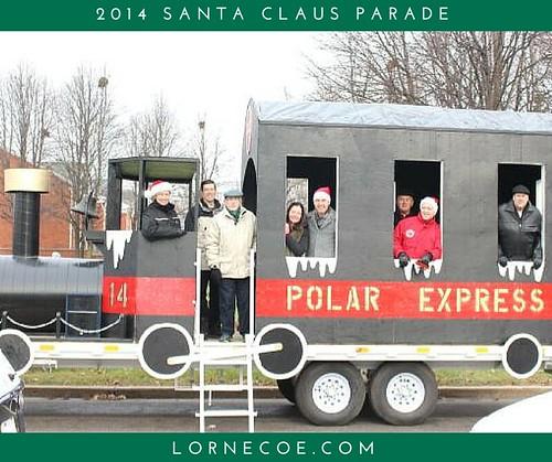 The Santa Claus Parade & Councillor Lorne Coe