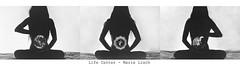 Life Center / Cosmogony series / Self Analog (Marie Lisch) Tags: life selfportrait analog self blackwhite kodak center contax projection argentique selfie lif cosmogony