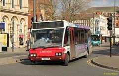 Centrebus 368 Optare Solo (Copy) (focus- transport) Tags: road bus public buses vintage leicestershire leicester transport solo dennis dart scania excel optare centrebus centerbus