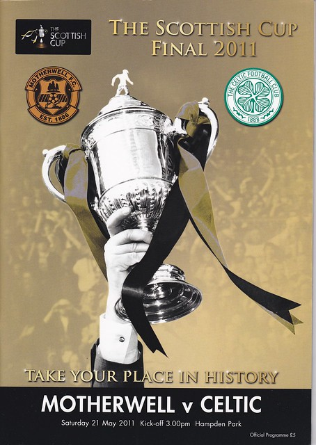 Motherwell V Celtic 21/5/11 (Scottish FA CUP Final)