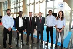 Thierry Braillard et Gérard MestralletPierre Lecoq Hélène de France Noé Delpech et Michael Zeze(Athlétisme)©Hervé Hamon-MVJS_U2F3350