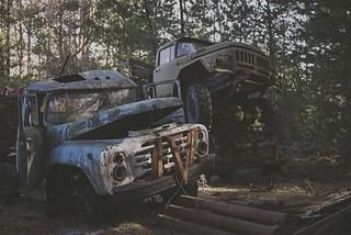 Truck stop...Pripyat