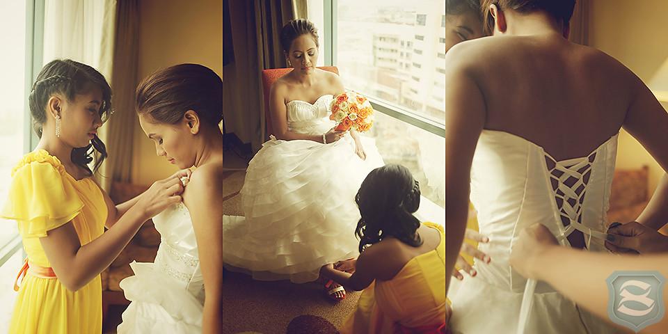 Vinjie + Art {wedding photos}