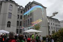 Seifenblasenfabrik Bubblebo Seifenblasenshow beim Tag der offenen Tür im Bundesministerium für Landwirtschaft 11