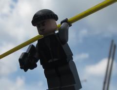 Spec Ops Commando (NestRising) Tags: outside lego custom p90 washingline pdw specops brickarms