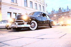 Pontiac 1949 (Drontfarmaren) Tags: old classic car vintage american pontiac bilder 1949 sundsvall bilar