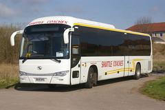 SHUTTLE BUSES BX14KPG (bobbyblack51) Tags: buses long king shuttle kilwinning 2015 bx14kpg
